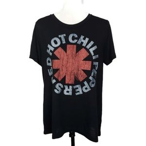 Red Hot Chili Peppers Black XL Graphic Tshirt